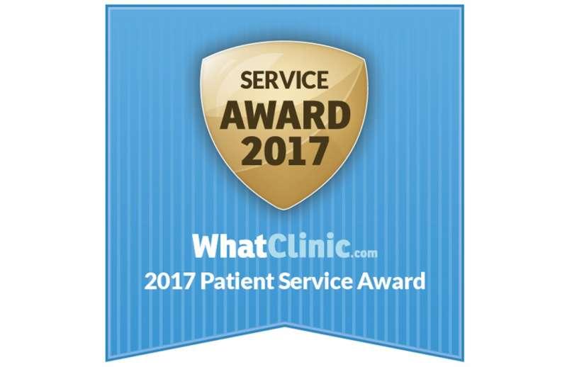 B.Dent priznanje -  Patient Sevice Award 2017.