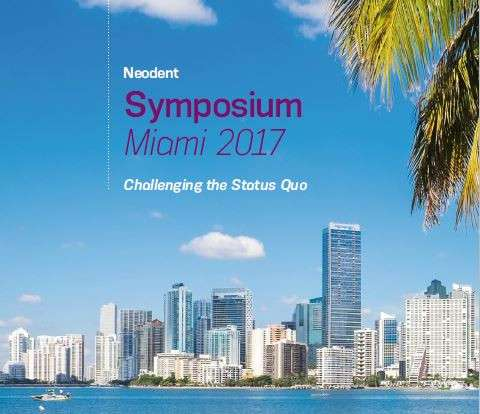 We attended the Straumann-Neodent Symposium in Miami, Florida