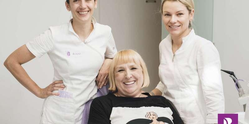 Smile transformation All on Four method